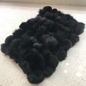 Bebe Rabbit Fur Scarf